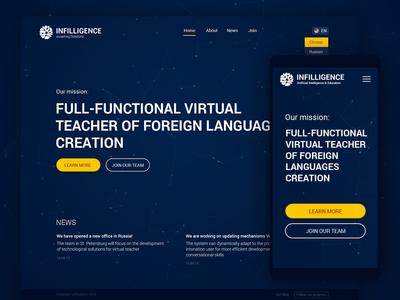 Infiligence Web Page