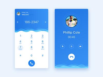 Dial Pad dial pad design ux ui