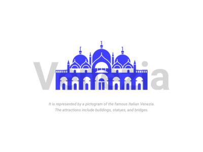 Venezia Landmark Icons 01