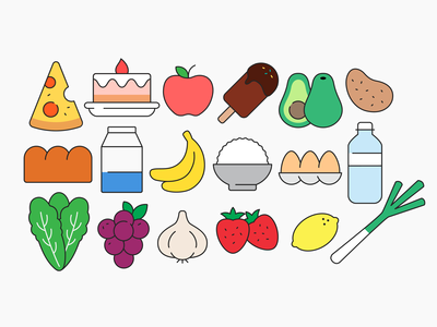 Food Icons 02