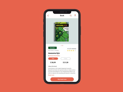 Day 12 of 100 days UI Challenge: Single Product