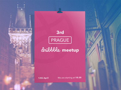 Prague Dribbble Meetup