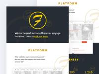 👏 Fans engagement platform client case study