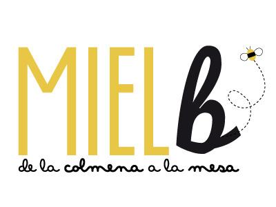 Logo Miel B logo identity