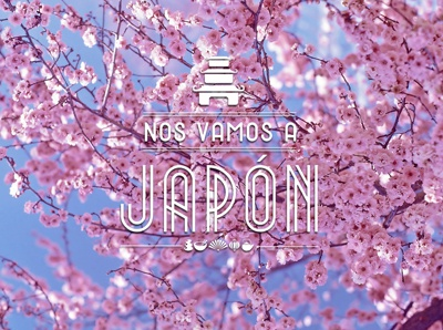 Japan postcard  typography photo