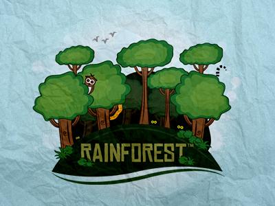 Rainforest Architecture Identity
