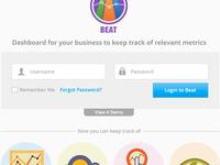 Beat Login UI