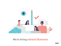 We're hiring a Brand Illustrator!
