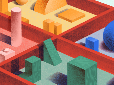 Todoist Sections: 18 Ways to Divide and Conquer Your Projects teamwork editorial productivity illustration todoist