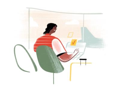 Todoist Foundations Landingpage - Spot Illustrations