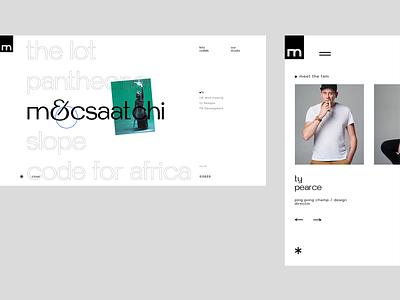 Studio Malvah typography portfolio branding design ux web ui
