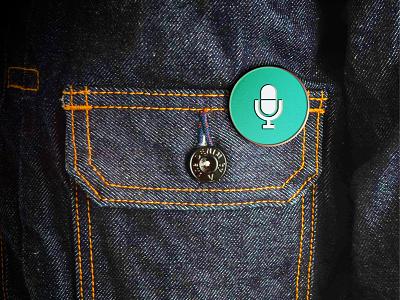 Enamel Pin Mockup - Free PSD mock up free psd download freebie mockup enamel pin