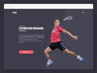 Squash Coach Single Page