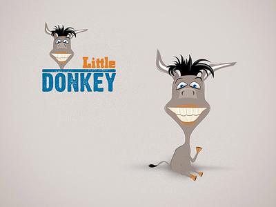 Logo Littledonkey brand branding logotype logo