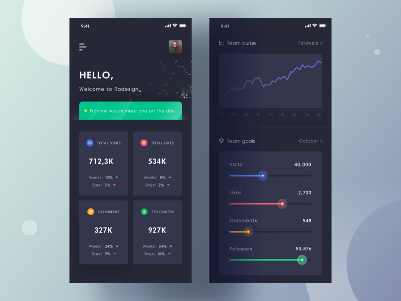 Team App - 01 team design ue app sketch interface ui