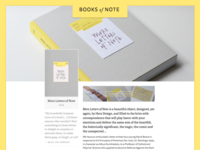 Books of Note