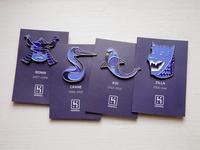 Heroku 10 Year Anniversary Pins