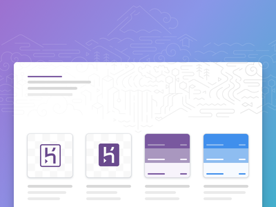 Heroku Brand spa microsite typography colour palettes brand guidelines