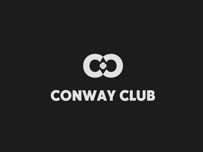 Conway Club irish identity branding design logo