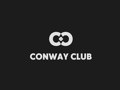 Conway Club irish identity branding design logo