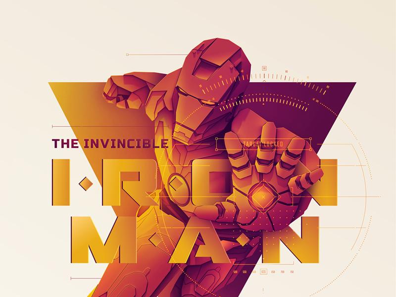 Movie poster inspired by Marvel wall print poster movie marvel ironman interior hulk graphic design deisgn