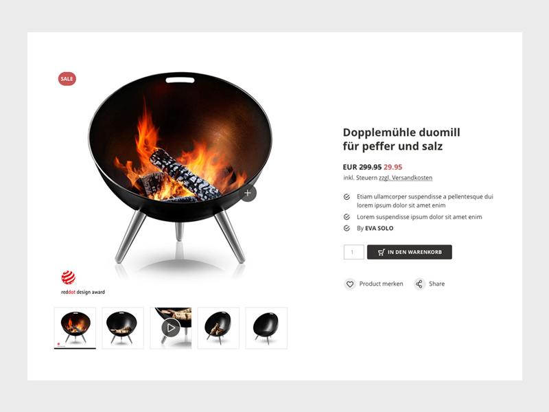 Tu Mundo — Online shop - product info website ux user usability ui shop online interface design