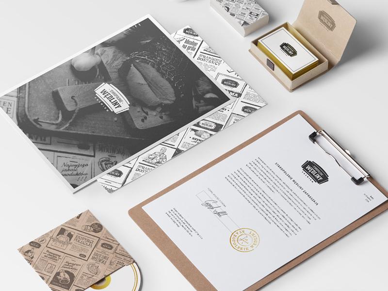 Staropolskie wędliny — Brand rebranding typography rebranding meat logo identity design ci branding brand