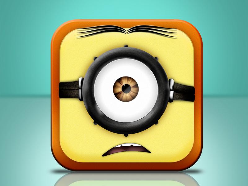 Despicable Me - Minion Icon despicable me minion icon