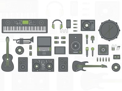 Bookya - Music Instrument Set