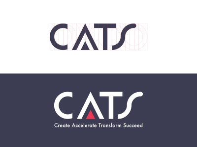 CATS - Logo Design corporate identity brand line design logo cats