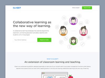 Classt.io - Coming Soon (Landing Page)