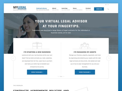 Platform for Legal Contracts