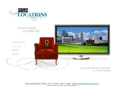 Film Locations Home logo-design logo interfase-design user-interfase ui