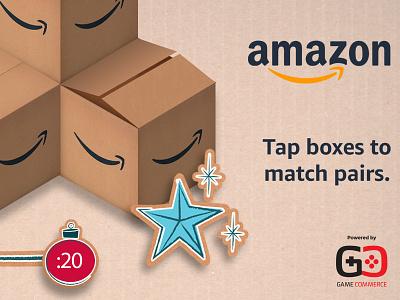 Amazon Holiday Memo game ui ux games