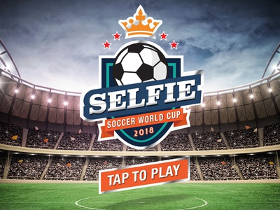 Selfie Soccer Game art direction ux design uidesign mobile games game animation mobile