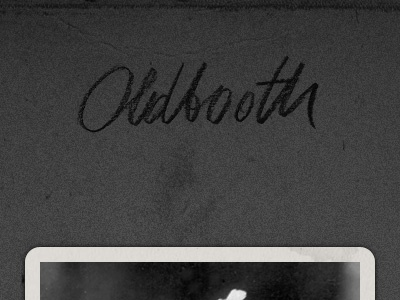 OldBooth for iPad oldbooth vintage bord