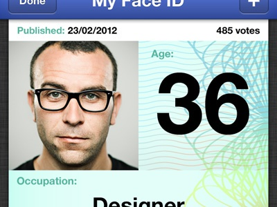 ID screen id face