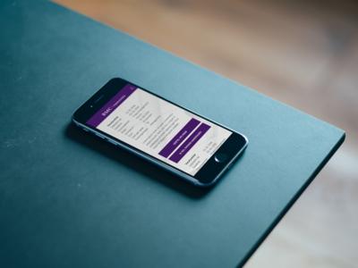 BMC Vacancy Portal - Smartphone Application website webapp ux ui design app