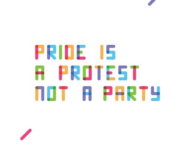 Pride Protest Type lgbtq protest pride typography