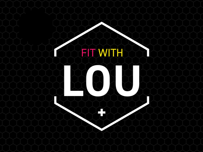 Fit With Lou Brand Identity identity design logo brand identity brand design branding brand