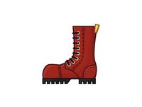Martens Boot Illustration