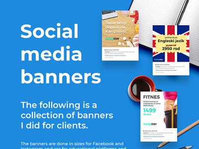 Social Media Banners Vol. 1