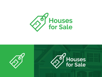 Houses For Sale Logo Concept 2