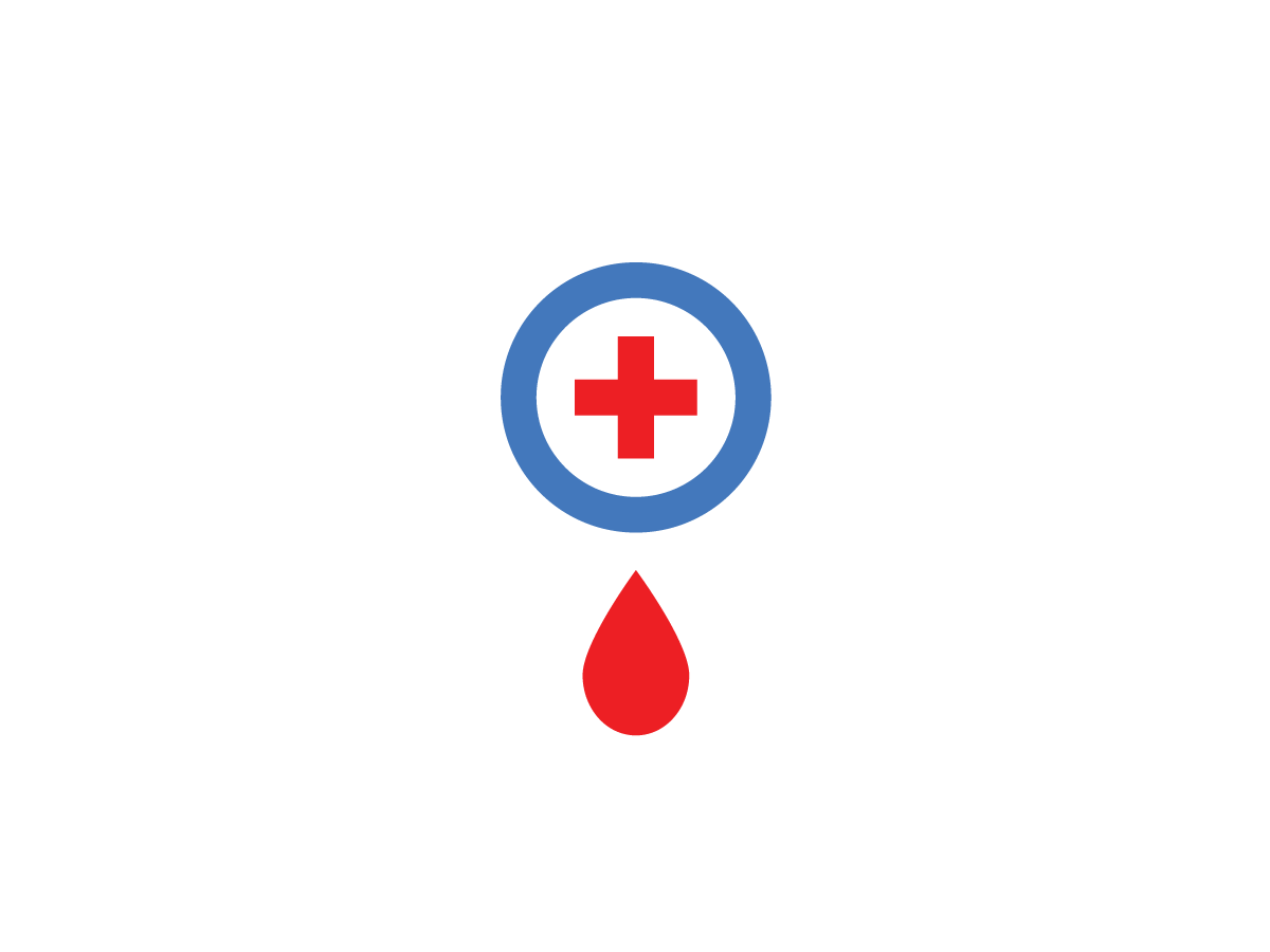Blood Donation Logo blood donation hospital help red cross branding logo healthcare drop donation magnifying glass search medicine blood