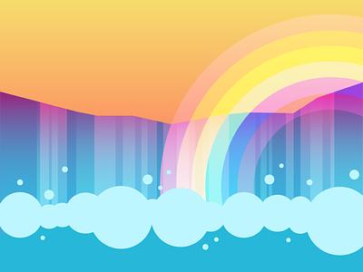 ~*A little bit of Gay in your day*~ vector vector art splash gradient trans lesbian bisexual lgbtqia lgtbq lgtb gay water rainbow pride 2021 pridemonth pride waterfalls waterfall falls niagara