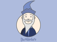 Dumbledor - Illustration Design
