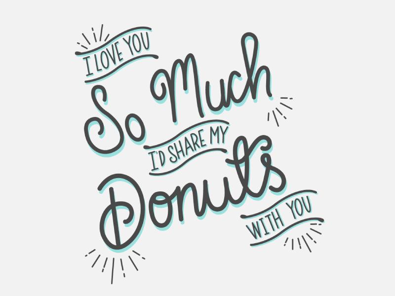 Valentine's Day donuts love day valentines valentine homwork