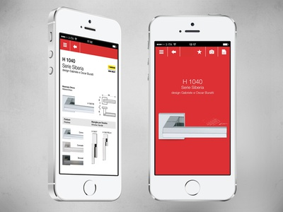 Design Handles iPhone App