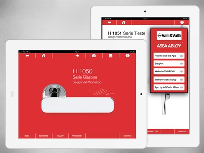 Design Handles iPad App