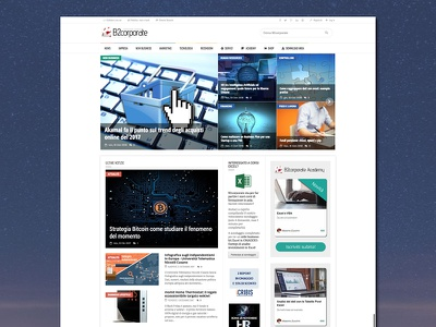 Business and economy site - B2corporate excel community portal blog news economy business